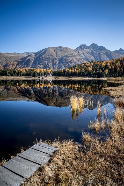 Herbstwanderung Lej da Staz