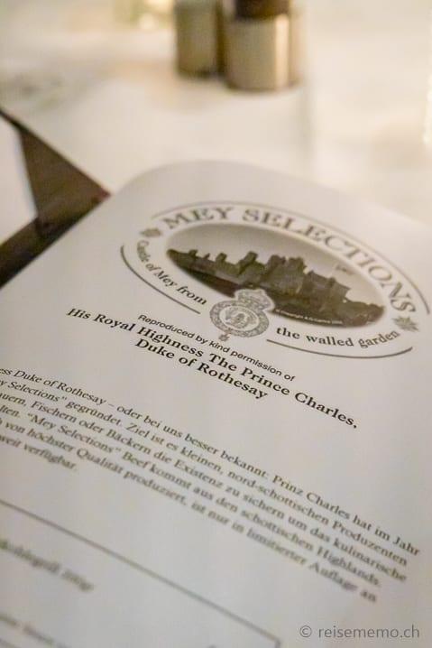 """Mey Selections"" Beef aus den schottischen Highlands"