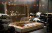 Belvoir-Weinschrank mit Grappa von Vergani