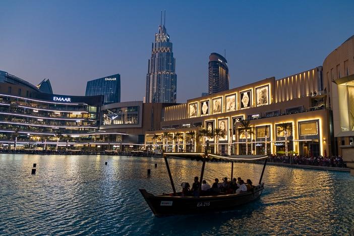 Dubai Mall am Burj Khalifa Lake