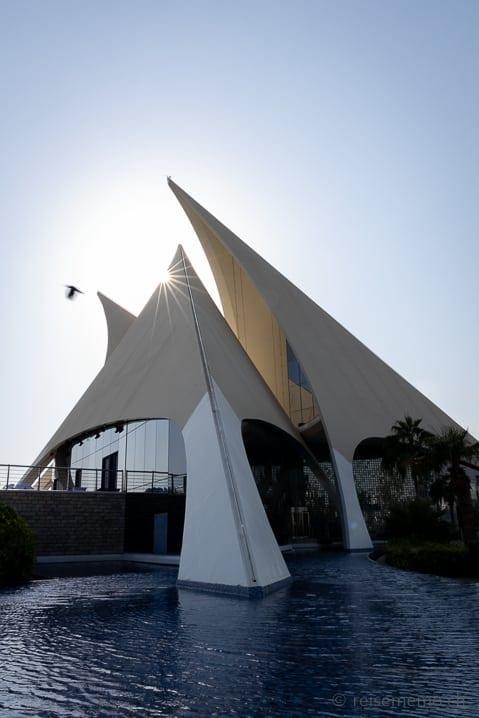 Clubhaus des Dubai Creek Golfplatzes