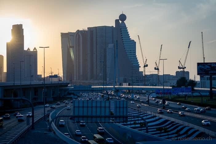 Autobahn durch Dubai