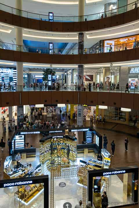 Shop till you drop in der Dubai Mall