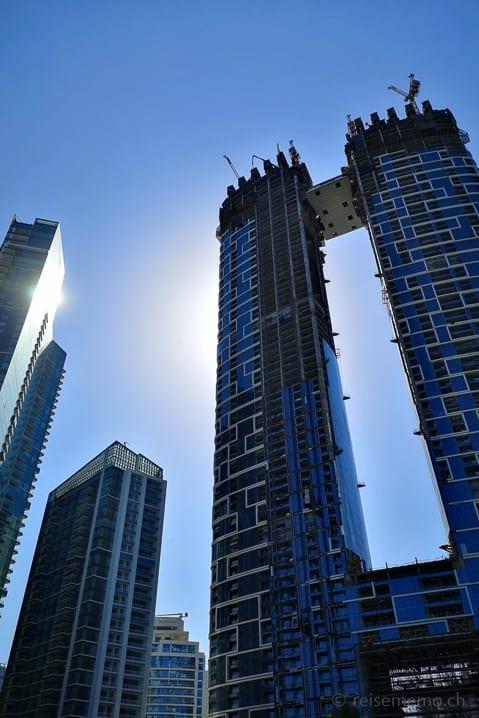 Hochhaus bei der Dubai Marina