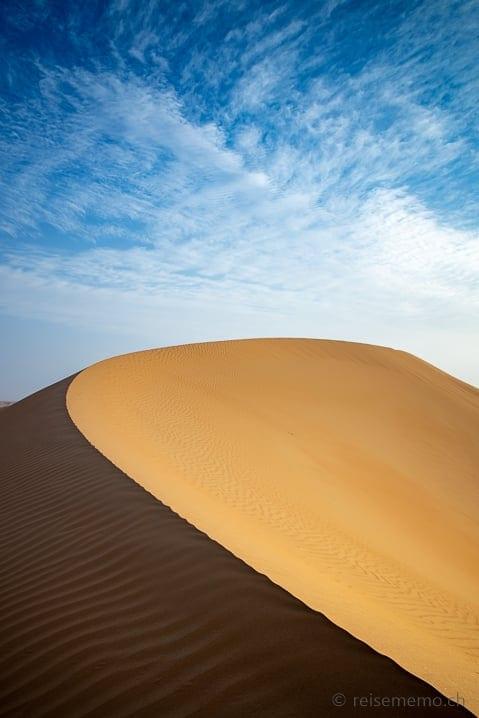 Düne in der Liwa Wüste