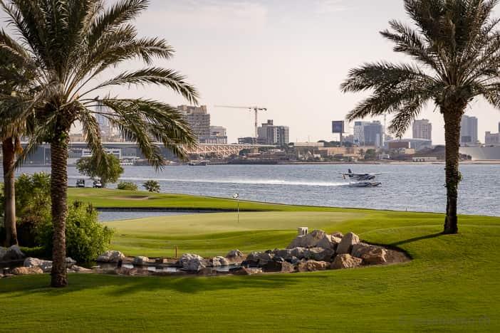 Dubai Creek Golfplatz
