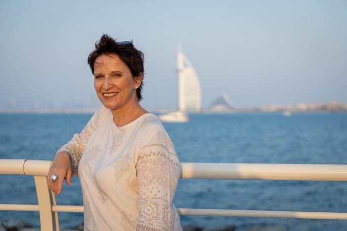 Katja auf The Palm Dubai