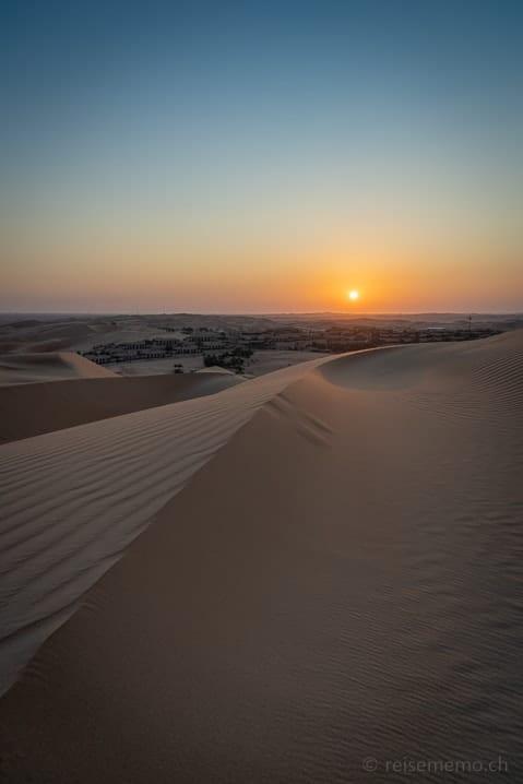 Sonnenaufgang über der Hausdüne