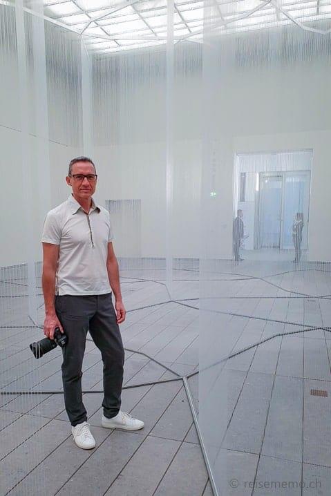 Walter im Louvre Abu Dhabi
