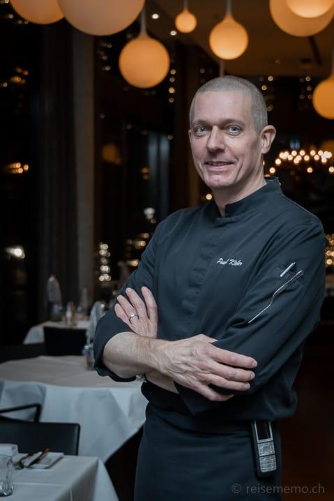 Chefkoch Pascal Kleber im Belvoir Restaurant & Grill