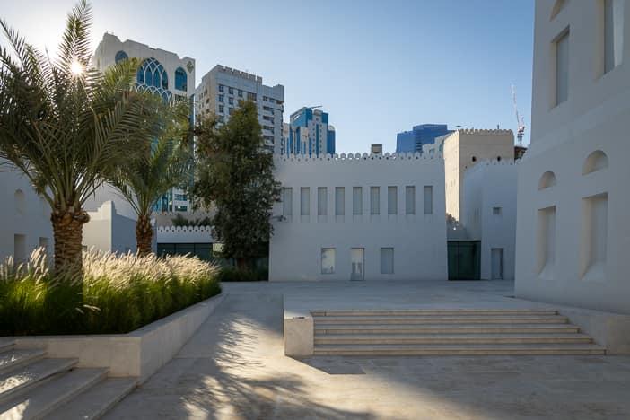 Qasr Al Hosn Innenhof mit Museum
