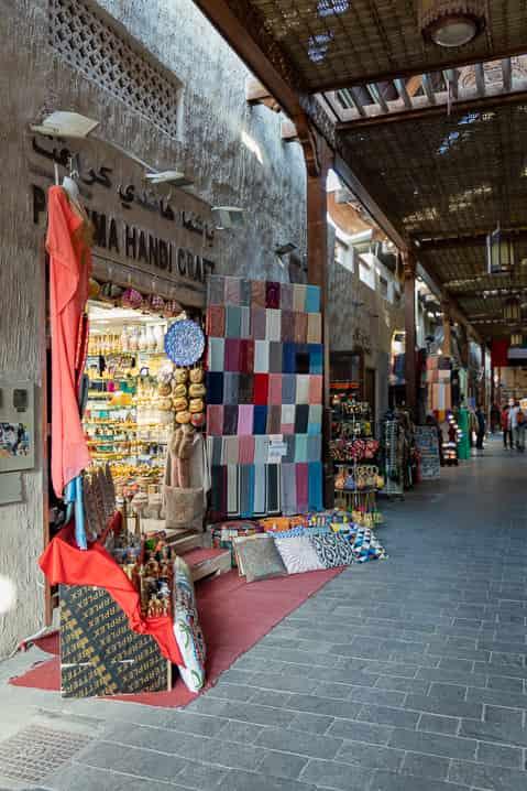 Alter Textilsouk in Dubai