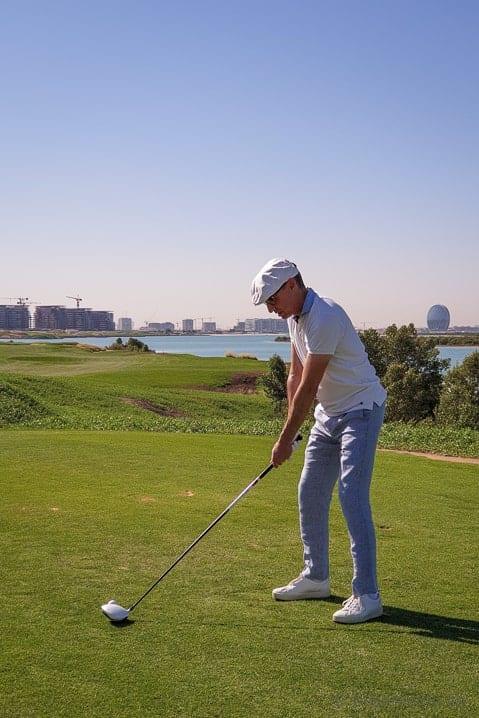 Yas Links Golfplatz Abu Dhabi