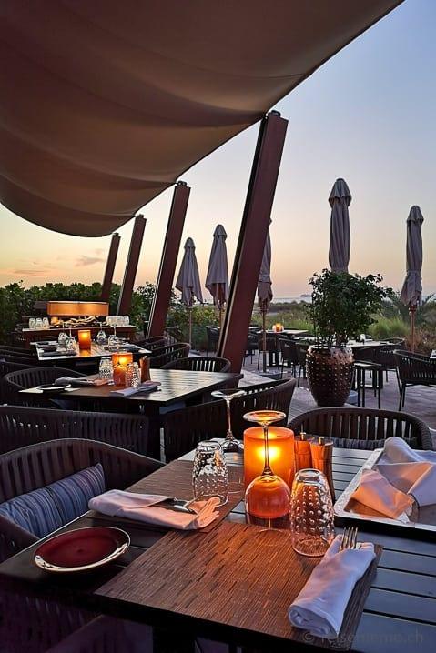 Strandrestaurant des Park Hyatt Hotels Saadiyat Island