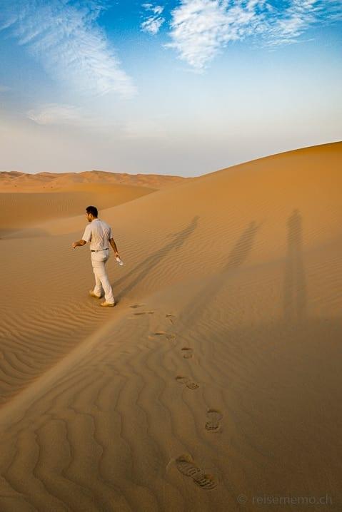 Wüstenspaziergang mit Guide Taj