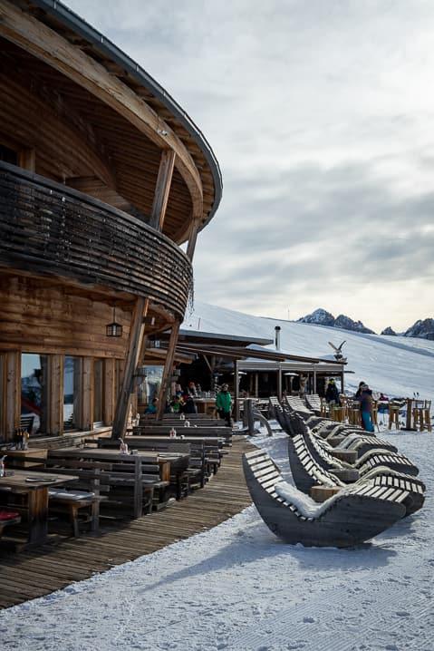 Bergrestaurant Rossalm auf 2'200 M.ü.M.