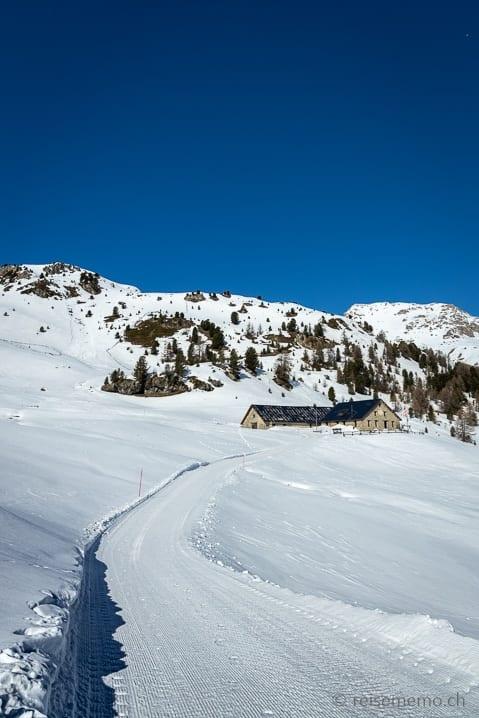 Winterwanderung zur Alp Laret