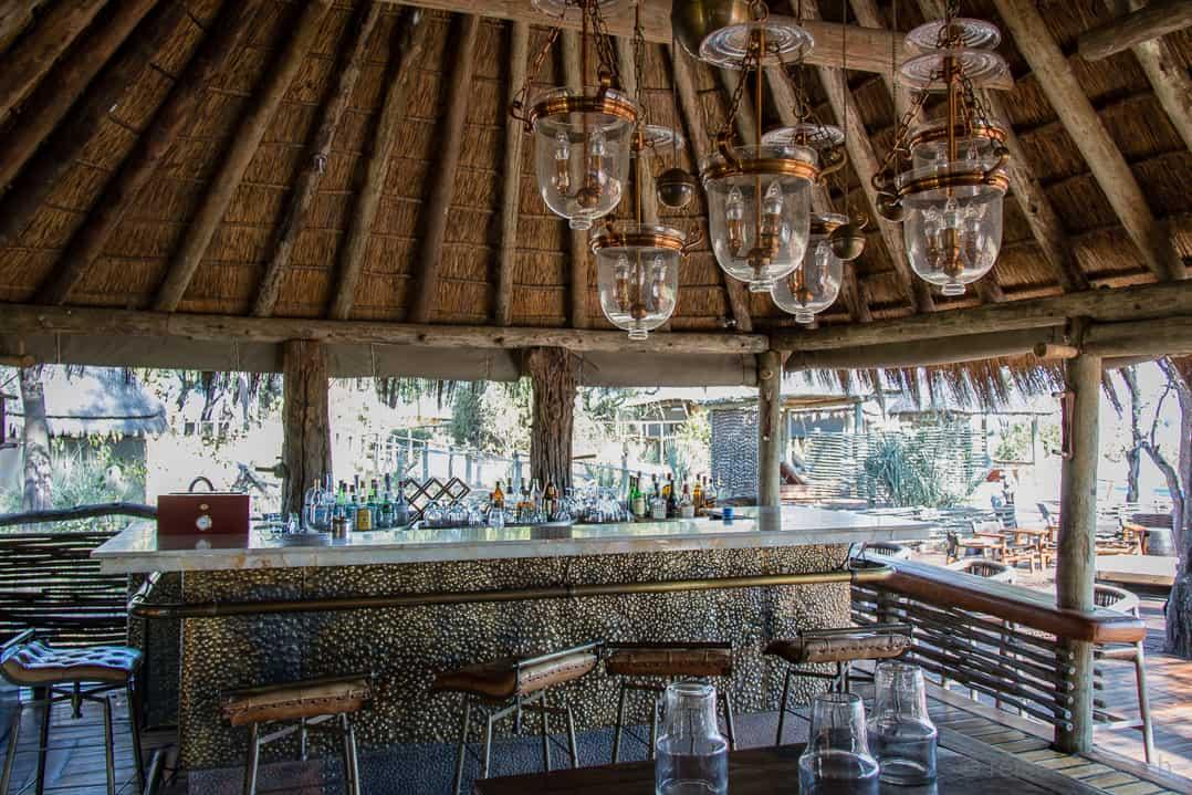 Bar des Mombo Camps im Moremi Game Reserve