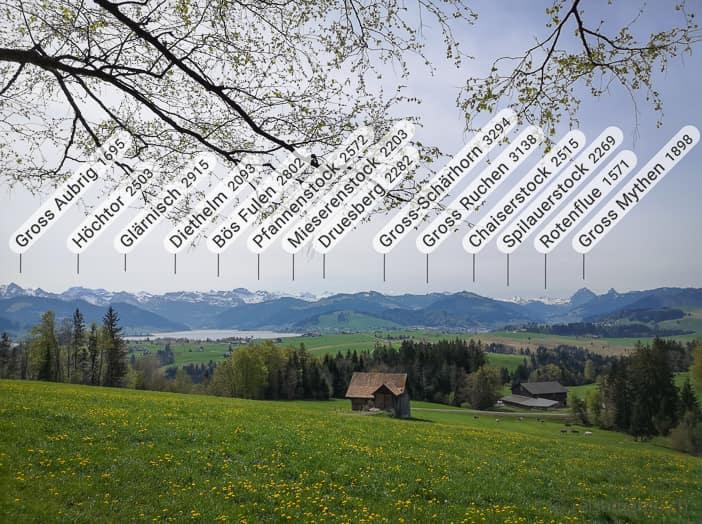 Sihlsee-Panorama