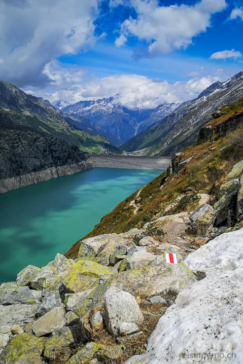 Aussicht Göscheneralpsee-Staudamm