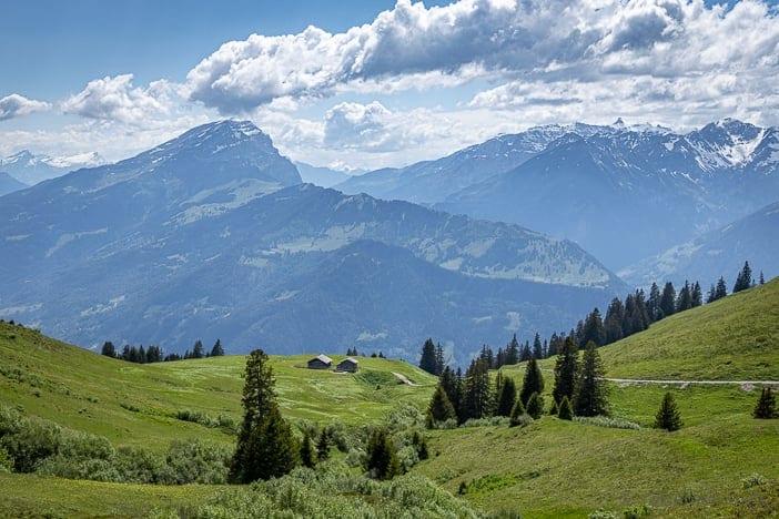 Bündner Herrschaft, Haldensteiner Calanda, Malanser Älpli, Route des Staunens, Wanderung, wandern