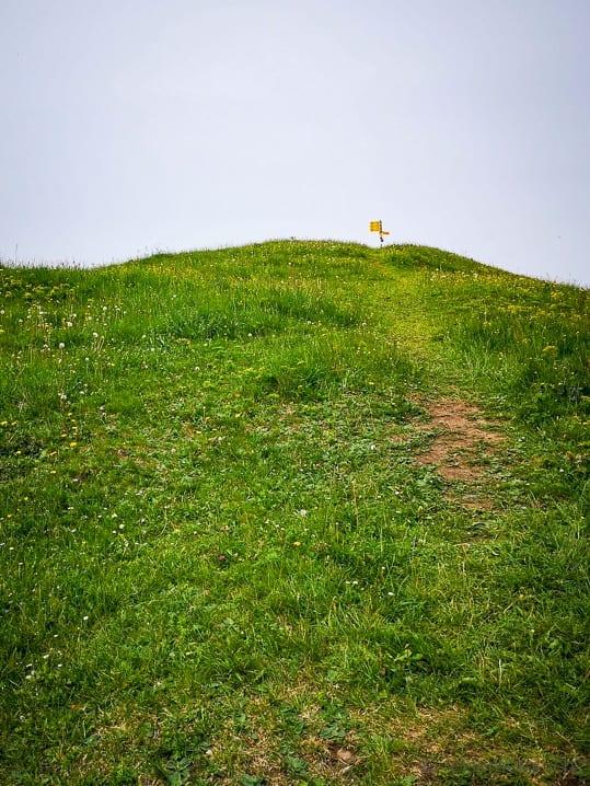 Hüttchopf, Wanderung, Wanderweg, wandern