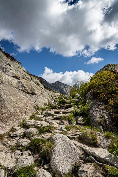Wanderweg Göscheneralp