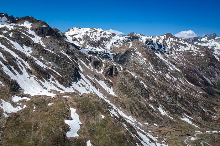 Graubünden, Tomasee, Wanderweg