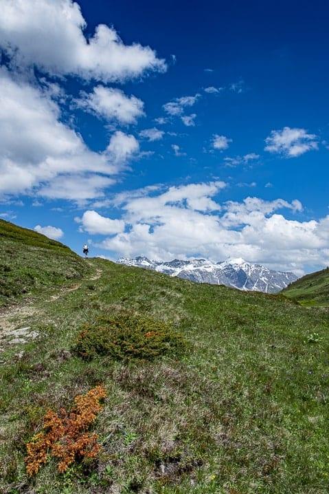 Bündner Herrschaft, Malanser Älpli, Route des Staunens, Wanderung, wandern