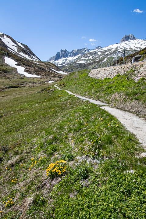 Gassa, Graubünden, Oberalppass, Via Alpsu, Wanderung, Wanderweg, wandern