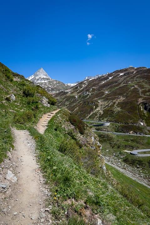 Graubünden, Oberalppass, Wanderung, Wanderweg, wandern