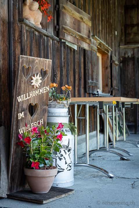 Alp Wielesch Bergrestaurant