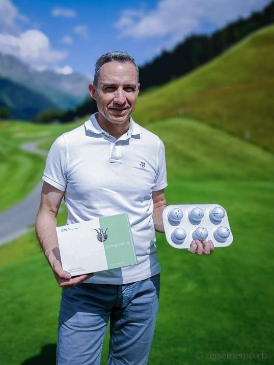 Walter mit Graubünden Golf forte 45000 mg