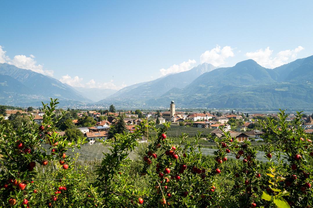 Lana, Apfeldorf Südtirols