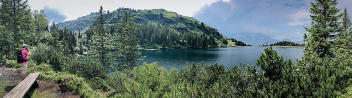 Panorama Garichtisee