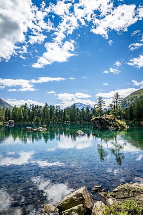 Lago di Saoseo im Puschlav