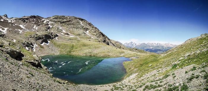 Panorama des Lej Languard
