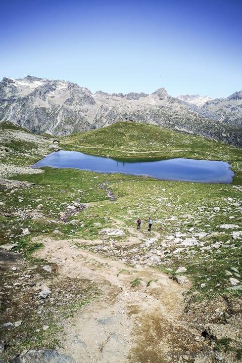 Wanderer beim Lejin Malachit
