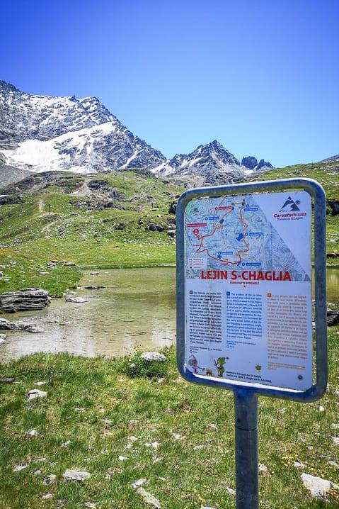 Lejin S-Chaglia- Furtschellas 6-Seen-Wanderung