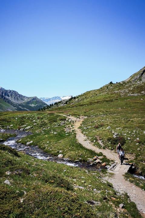 Wanderweg im Val Viola