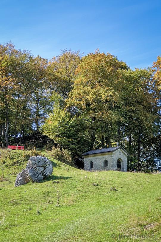 Kapelle auf der Alpe Bolla