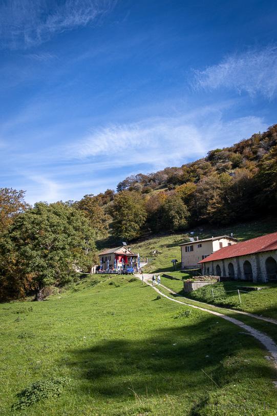 Zufahrt zum Grotto Capanna Alpe Bolla
