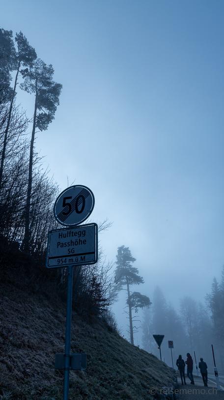 Hulftegg Passhöhe