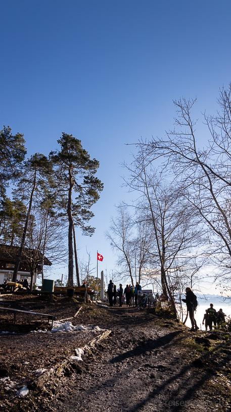 Spielplatz des Berggasthauses Rosinli