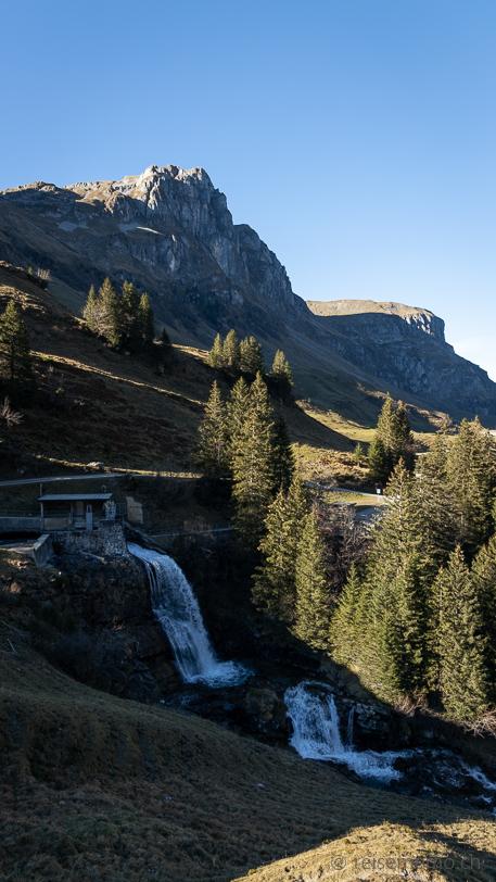 Wasserfall Ruosalper Bach