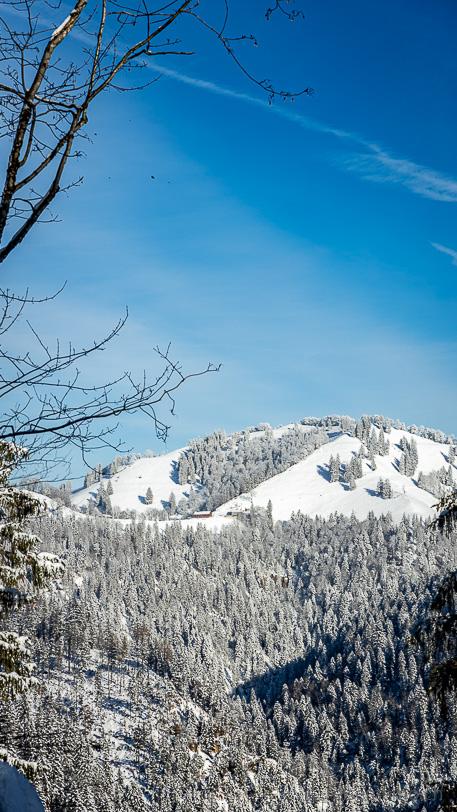 Schnebelhorn vom Hessenweg aus