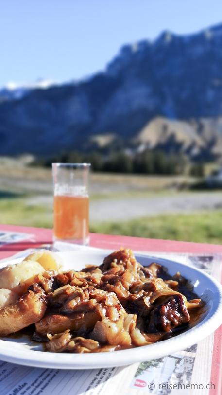 Hafechabis in der Alpwirtschaft Waldi-Ranch am Waldisee