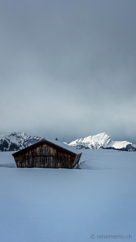 Speer von der Alp Sellamatt aus gesehen