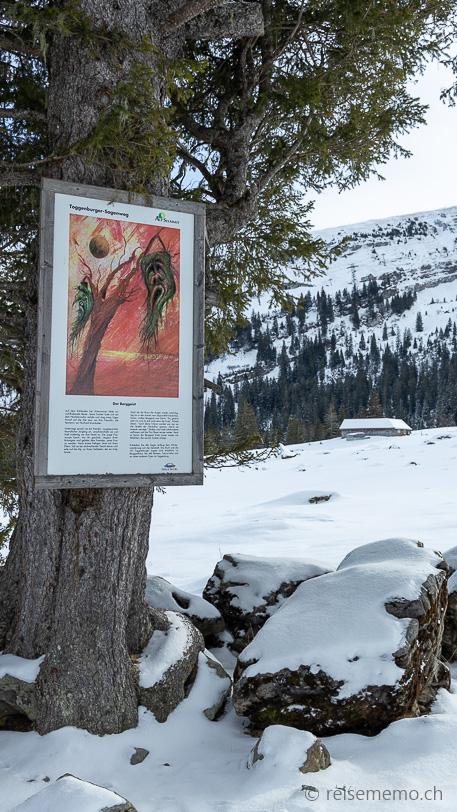 Sagenweg 2: Der Berggeist vom Säntis: Die Tränen der Tochter speisen die Säntisthur