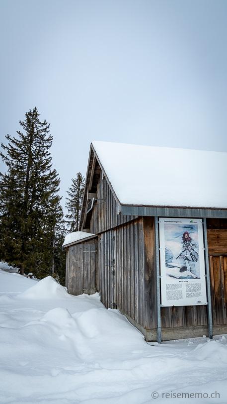 Sagenweg 9: Rettung am Berg von einem gewaltigen Schneesturm